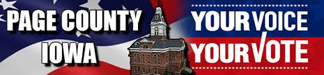 page county Your Voice Your vote