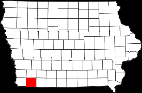 page county iowa location