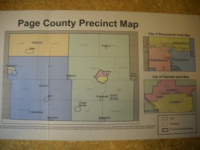 page county precinct map